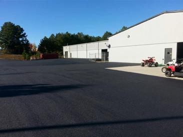 after asphalt parking lot repair danville va