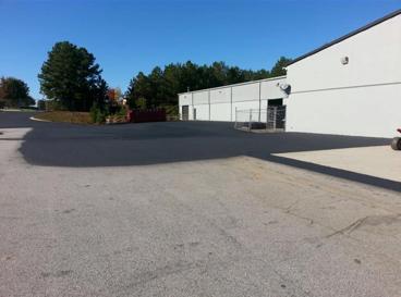 before asphalt parking lot repair danville va