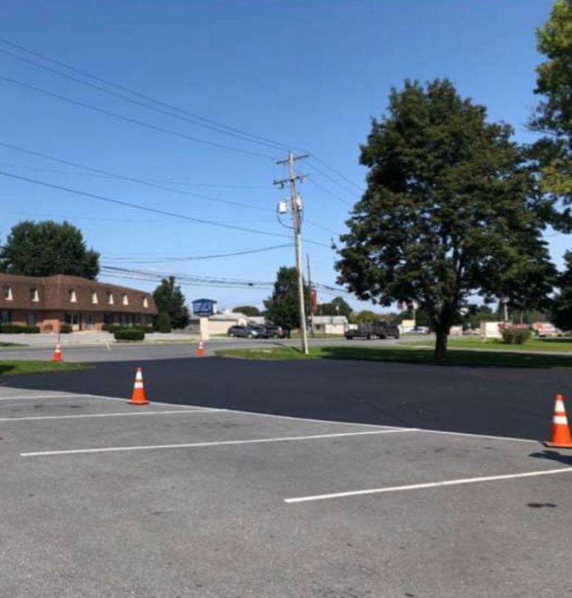 parking lot paving resurfacing danville va